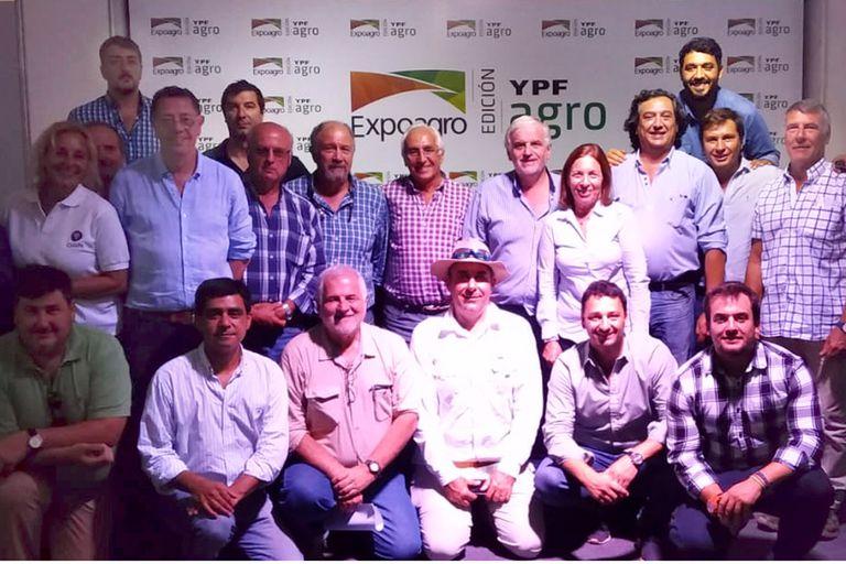 Reunión en Expoagro