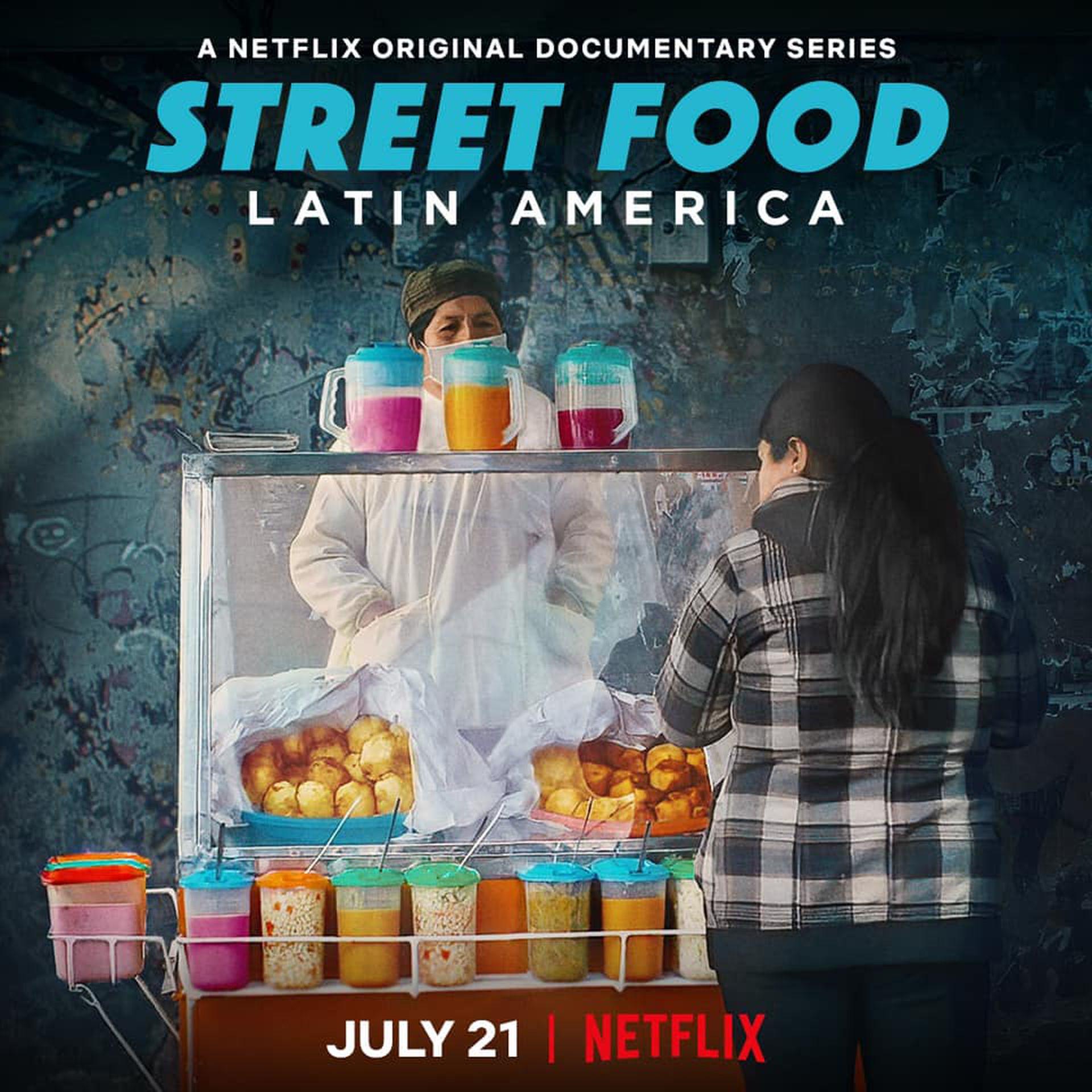 Street Food Latinaomérica se estrenó ayer en Buenos Aires.