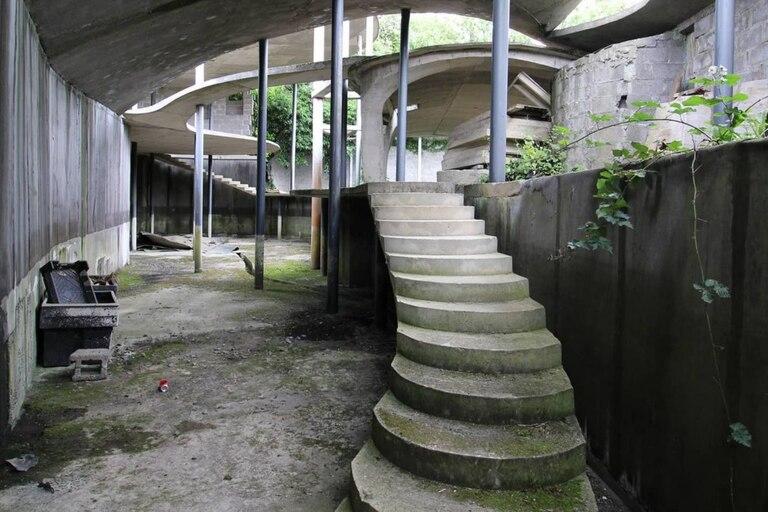 La construcción de la casa debió abandonarse por no tener la autorización correspondiente