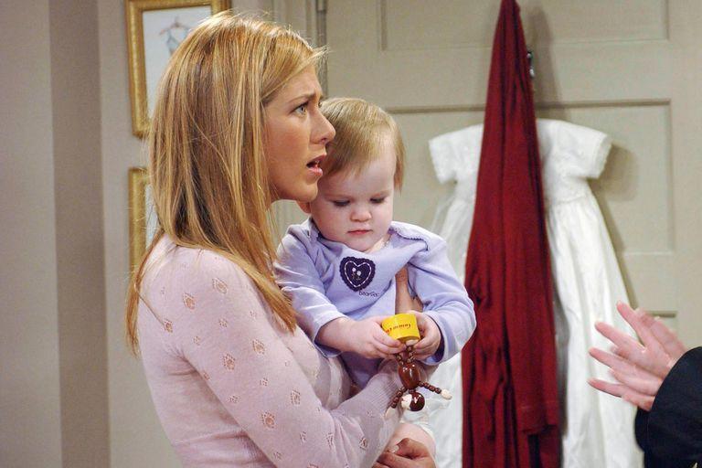 Friends: la actriz que interpretó a la hija de Rachel festejó 2020 con una broma