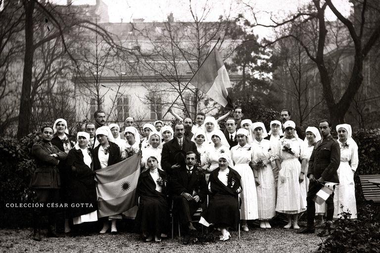 Hospital Argentino en París. Médicos argentinos en la I Guerra Mundial