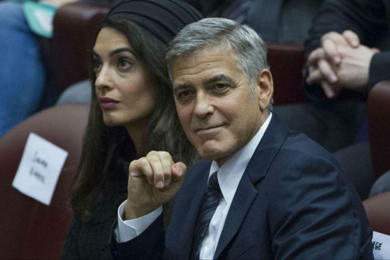 George y Amal Clooney donaron 100 mil dólares para los niños inmigrantes