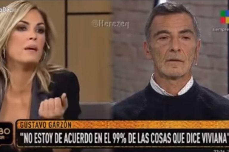 Gustavo Garzón y Viviana Canosa se trenzaron en un debate político por TV