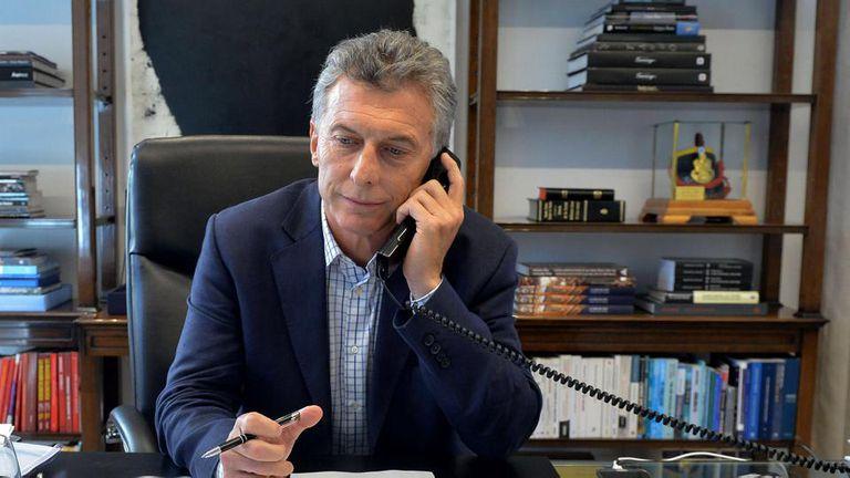 El Presidente se comunicó con el flamante mandatario brasileño