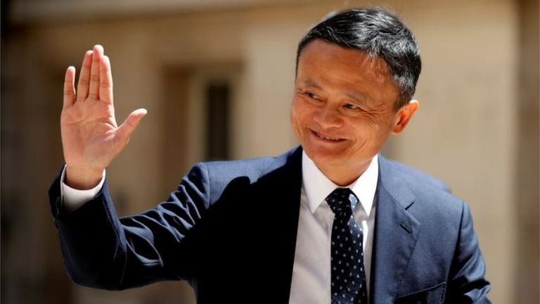 Jack Ma sigue siendo un gran accionista de la compañía