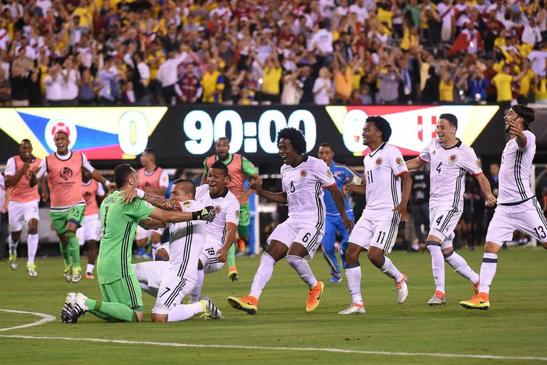 Colombia-Perú, Copa América 2016: por penales, el conjunto colombiano logró el p