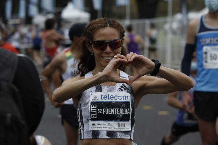 Hasta el 25% de los inscriptos en la maratón y la media maratón fueron mujeres