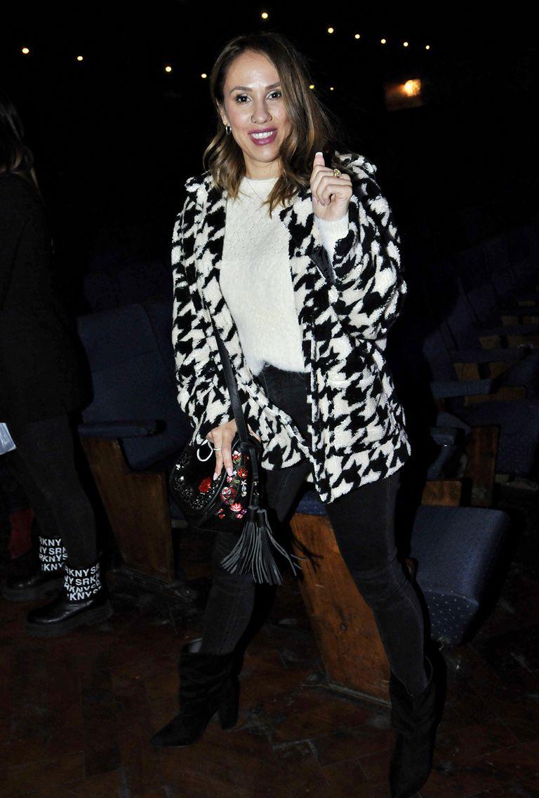 Barby Silenzi, en la reapertura de los teatros en la Ciudad de Buenos Aires