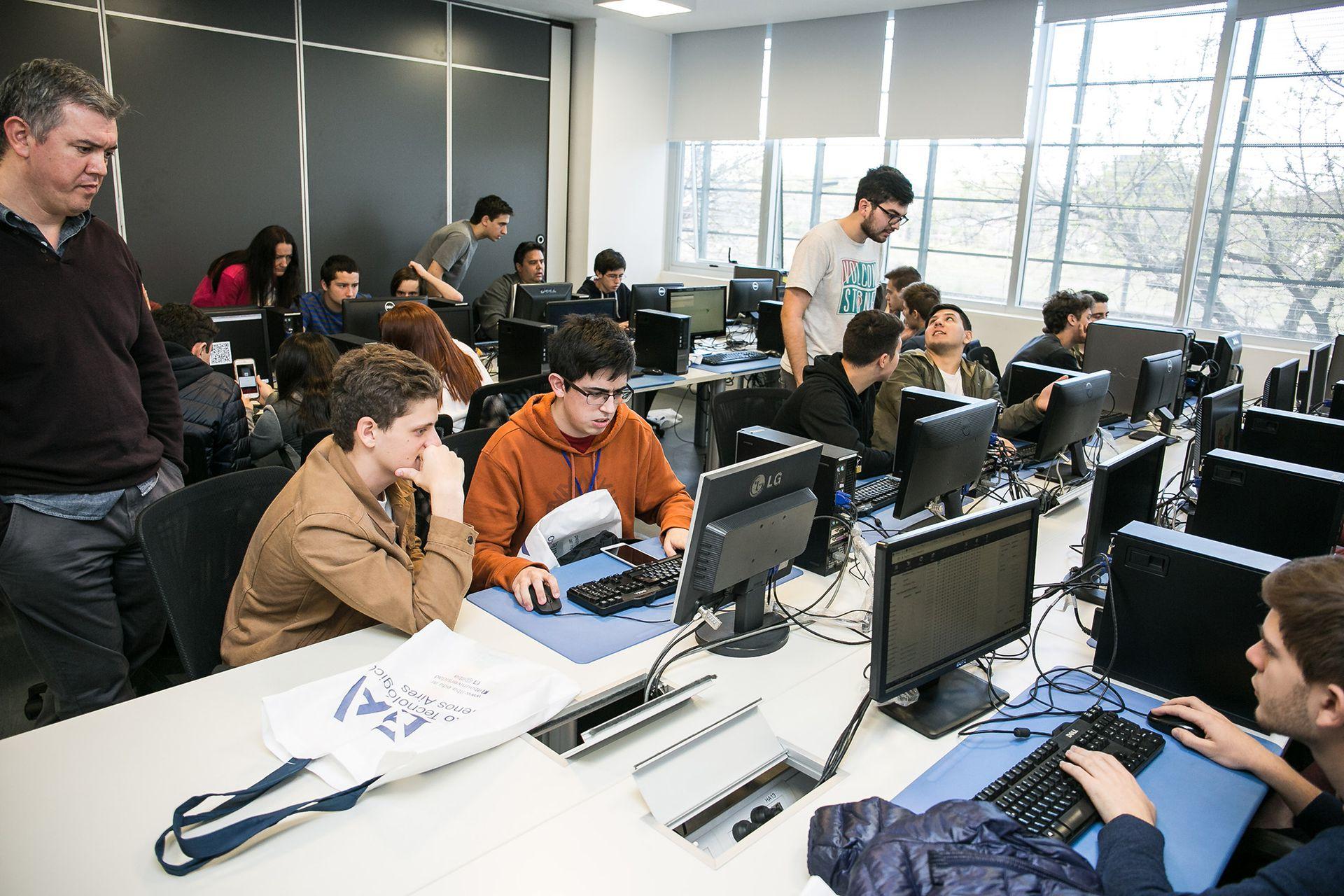 Laboratorio de informática del ITBA