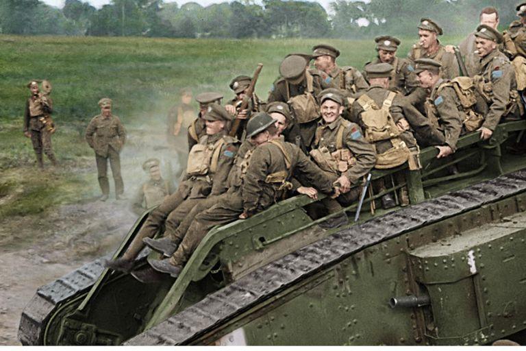 La Primera Guerra Mundial revive de la mano de Peter Jackson