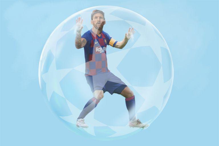 """La """"burbuja"""" de Lionel Messi"""