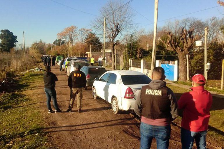 El doble crimen se registró en una vivienda ubicada en la calle Juana Azurduy, en Moreno