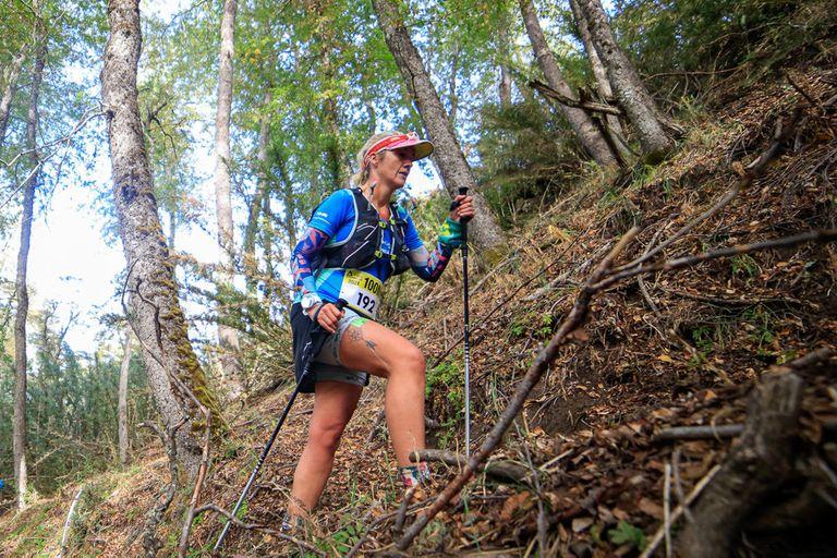 Sin dormir. Corrió 32 horas en la montaña por una promesa a su bebé prematuro