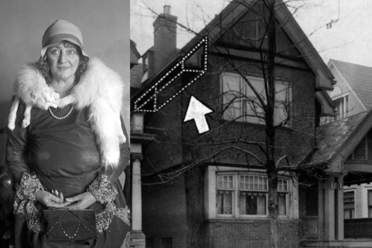 Dolly Osterreich mantuvo por una década a su amante oculto en el altillo de su casa, primero en Milwaukee (foto) y luego e Los Ángeles