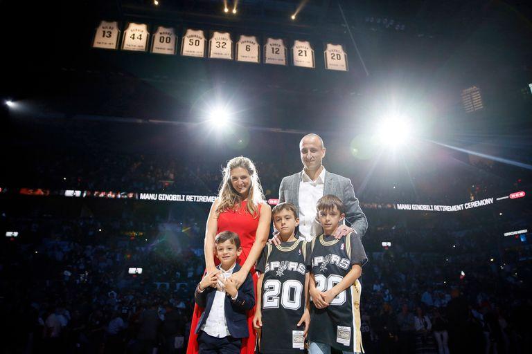 Retrato final de la familia para una noche inolvidable