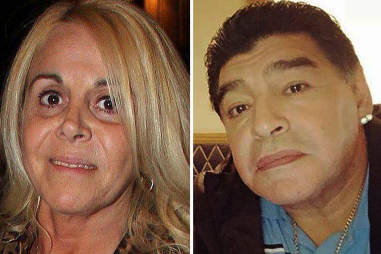 """La exmujer de Maradona confirmó que irá a la marcha convocada para pedir justicia por el """"Diez"""""""