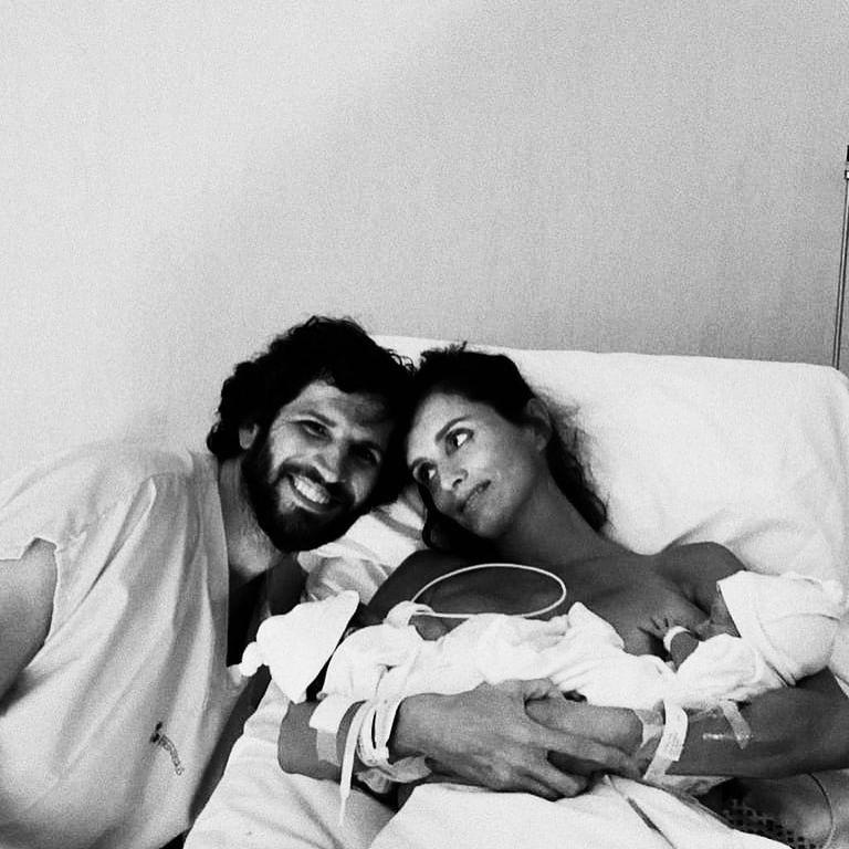 Paz Cornú y su esposo Diego Orden fueron padres de mellizos