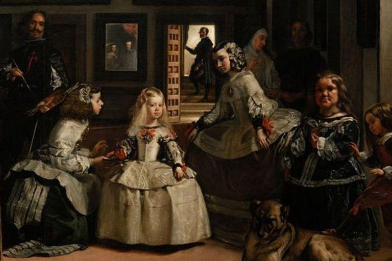 """El cuadro """"Las meninas"""" es la obra más icónica del Museo del Prado en Madrid"""