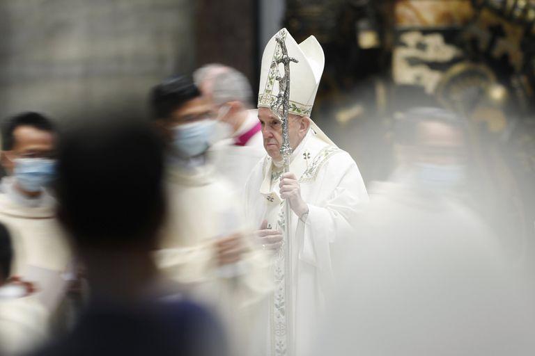 El Papa, el domingo último, después de una Misa Especial por el pueblo de Myanmar, donde se impuso un golpe de estado