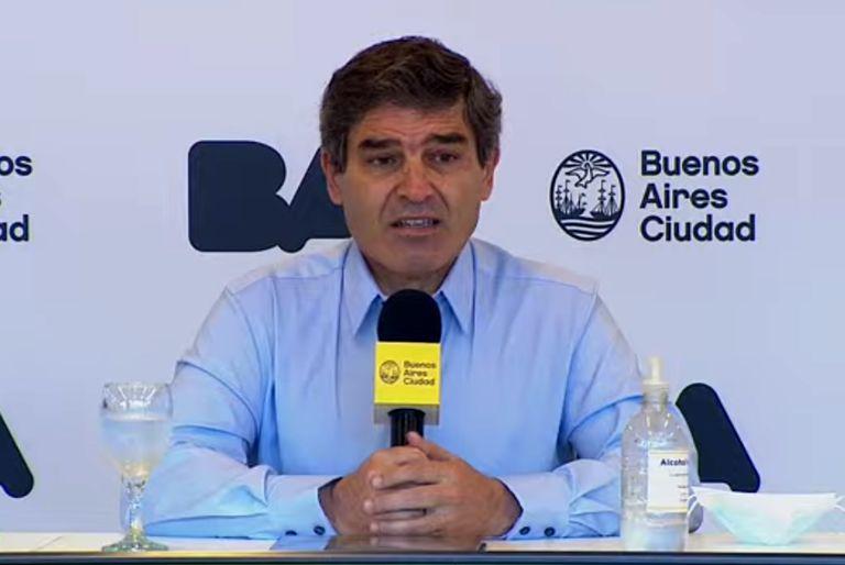 Fernán Quirós habló sobre el aumento de la circulación de la variante Delta