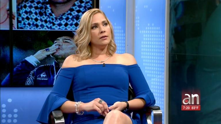 La novia menor de edad de Diego Maradona rompió el silencio