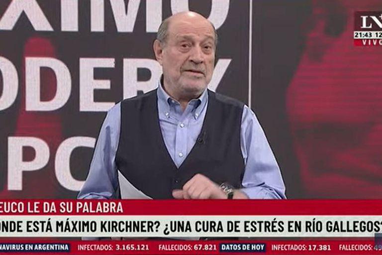 """Leuco: """"A Máximo no le salió bien quedarse de prepo con el PJ bonaerense"""""""
