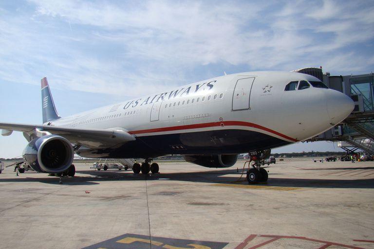 08-12-2009 Avión US Airways BARCELONA ECONOMIA ESTADOS UNIDOS NORTEAMÉRICA AENA