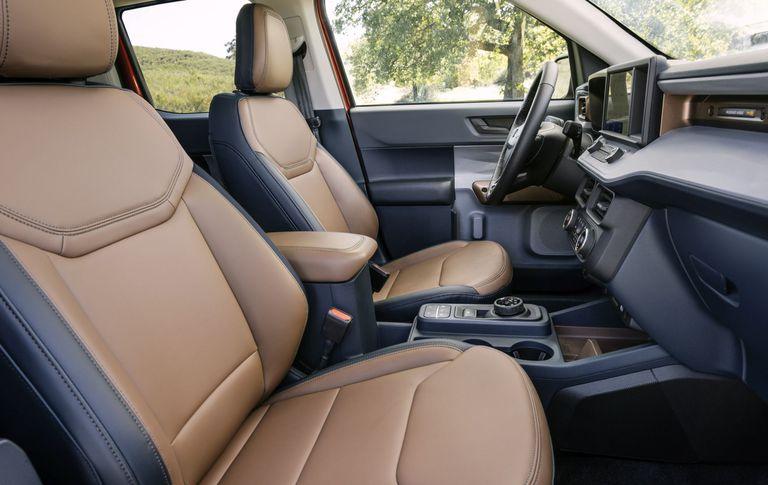 El interior de la nueva Ford Maverick