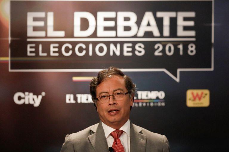 Gustavo Petro, líder de izquierda, exalcalde de Bogotá