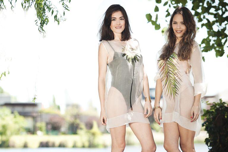 A pura complicidad, Natalia e Ivana disfrutan de una mañana de fotos al aire libre