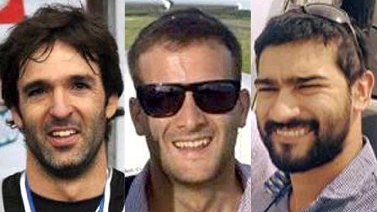 Los tres hombres que viajaban en el avión murieron en el acto, según consta en el expediente judicial