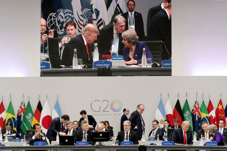 El plenario tuvo ayer su primera sesión conjunta con los principales mandatarios del mundo
