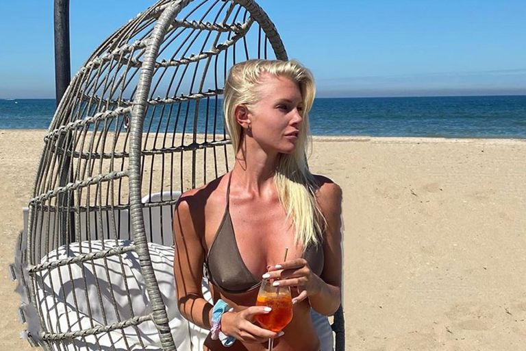 La modelo Daniela Christiansson