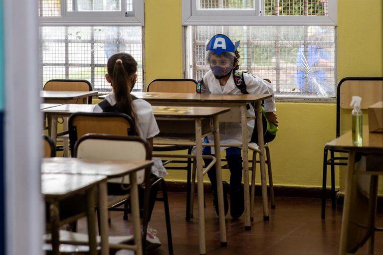Por las condiciones edilicias, 322 escuelas de la provincia de Buenos Aires no pudieron volver a la presencialidad