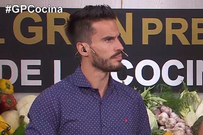 """Juan Marconi se dio cuenta de que Felipe, del equipo verde, """"traficó"""" un ingrediente no permitido en el desafío del día de El gran premio de la cocina"""