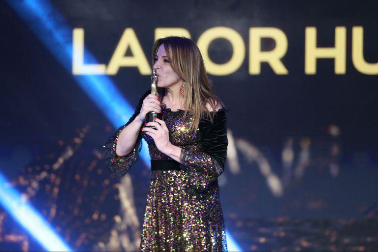Martín Fierro 2019: Lizy Tagliani y su emotivo discurso