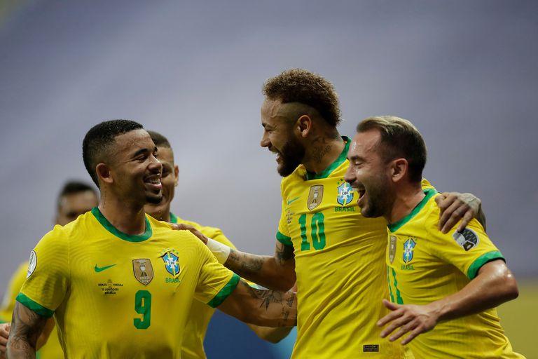 Brasil goleó a Venezuela en el inicio de la Copa América 2021