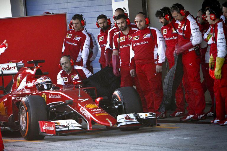 Ferrari se quedó con las mejores sensaciones en Jerez de la Frontera