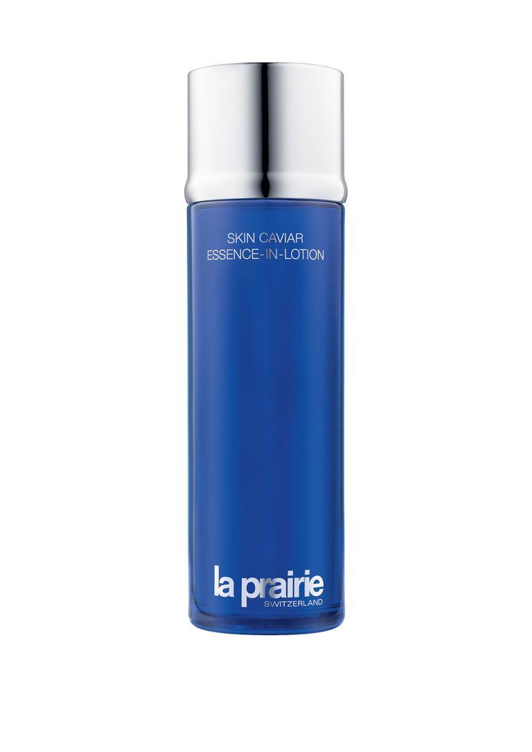 La Prairie Caviar Essence in Lotion: con agua de caviar, mejora el tono de la piel, regenerándola ($6600).