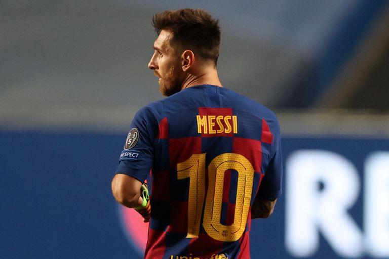 Messi, en el centro de la escena mediática de un viernes convulsionado en Barcelona
