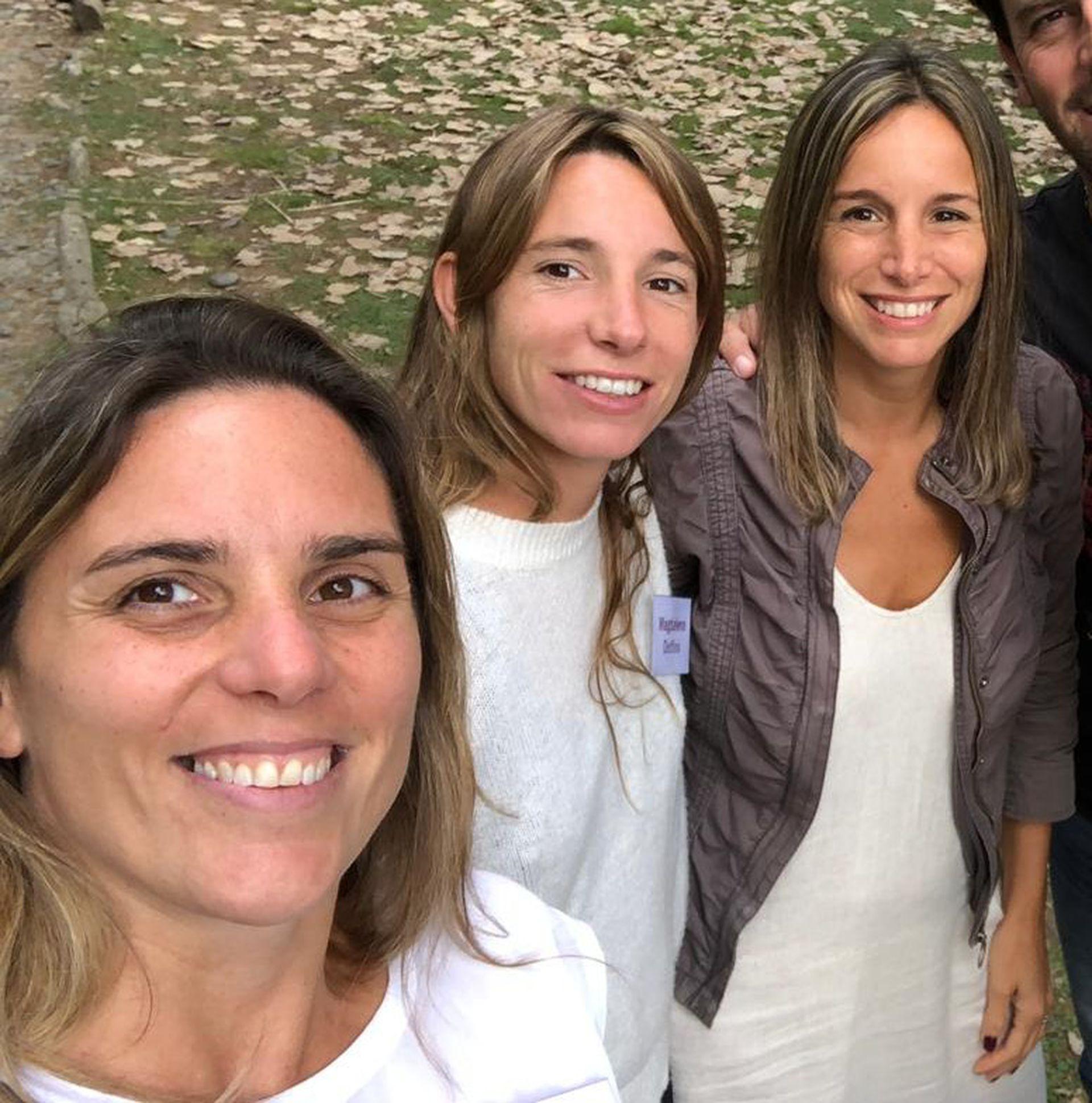 Soledad, Magdalena y Clara, mamás, amigas y emprendedoras.