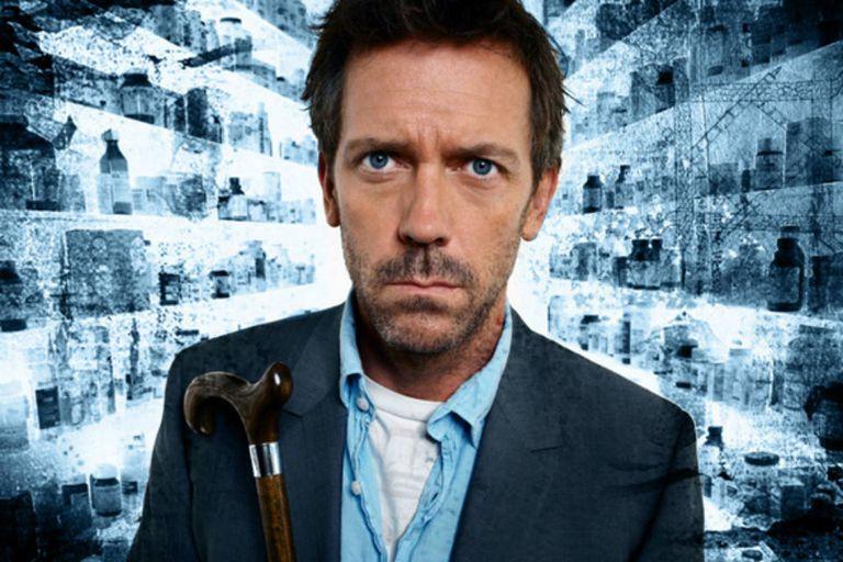 Dr. House, el ácido personaje que interpreta Hugh Laurie