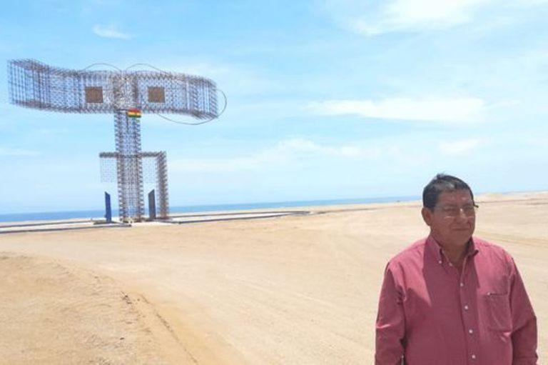 David Herrada es cónsul de Bolivia en Ilo desde el año pasado.
