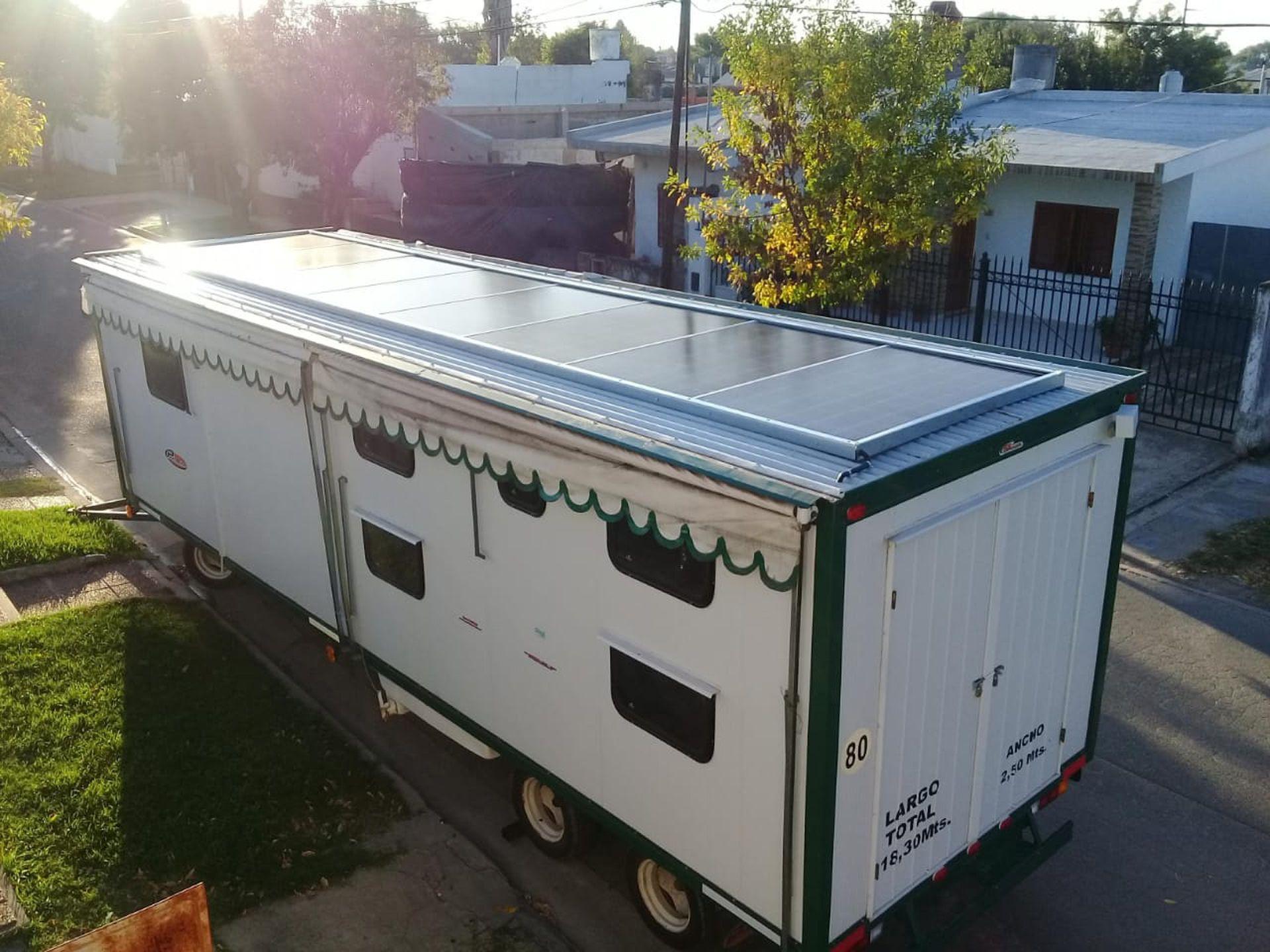 Los paneles para motorhome de Solarsol, en alza