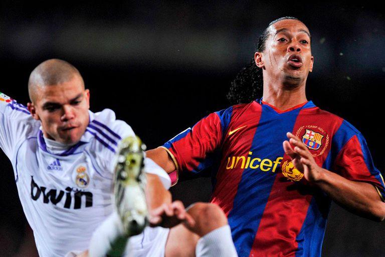 Barcelona vs Real Madrid, con Pepe y Ronaldinho pero sin Messi ni CR7. Sucedió en 2007, la última vez sin alguno de los dos.
