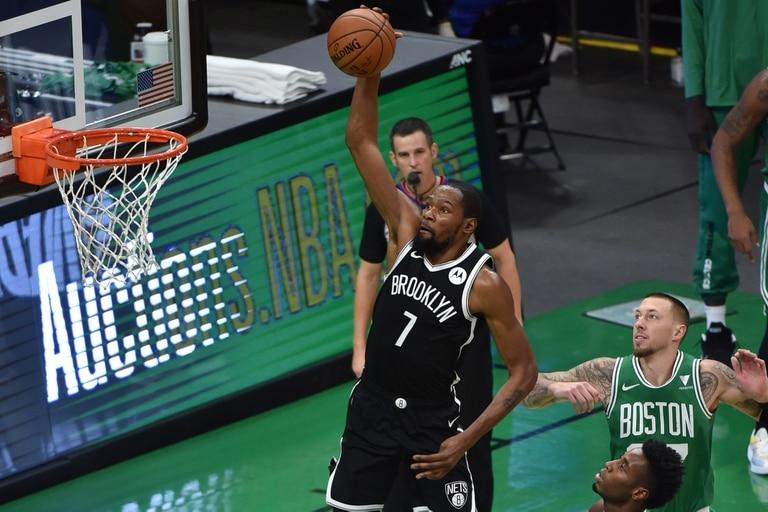 Kevin Durant volvió en gran forma en la pretemporada y promete llevar muy alto a Brooklyn Nets