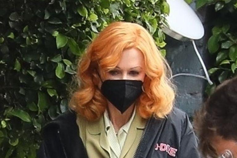 """Las primeras fotos de Kidman como Lucille Ball en """"el film de la polémica"""""""