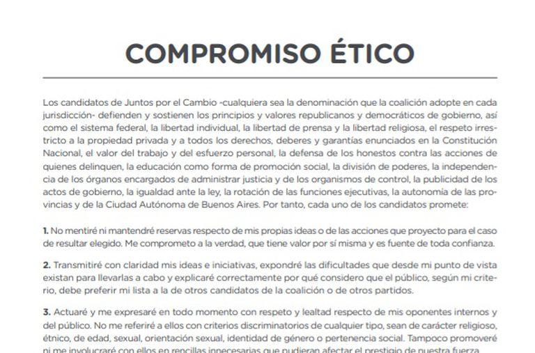 """Así es el """"manual de convivencia"""" para las internas que discutirá Juntos por el Cambio"""