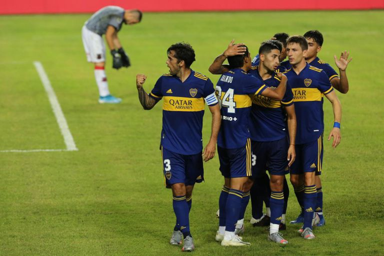 Boca goleó por 3-0 a Defensores y espera rival en la Copa Argentina: ¿River?