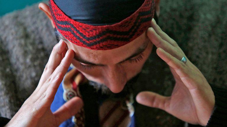 Jones Huala, el líder de la Resistencia Ancestral Mapuche